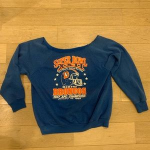 Women's Super Bowl XXII - Off Shoulder Sweater